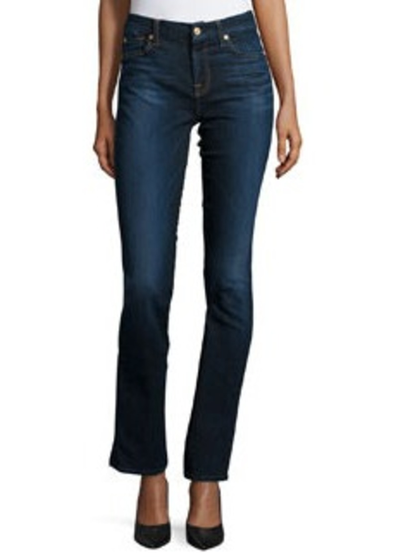 7 For All Mankind Kimmie Straight Slim Illusion Jeans