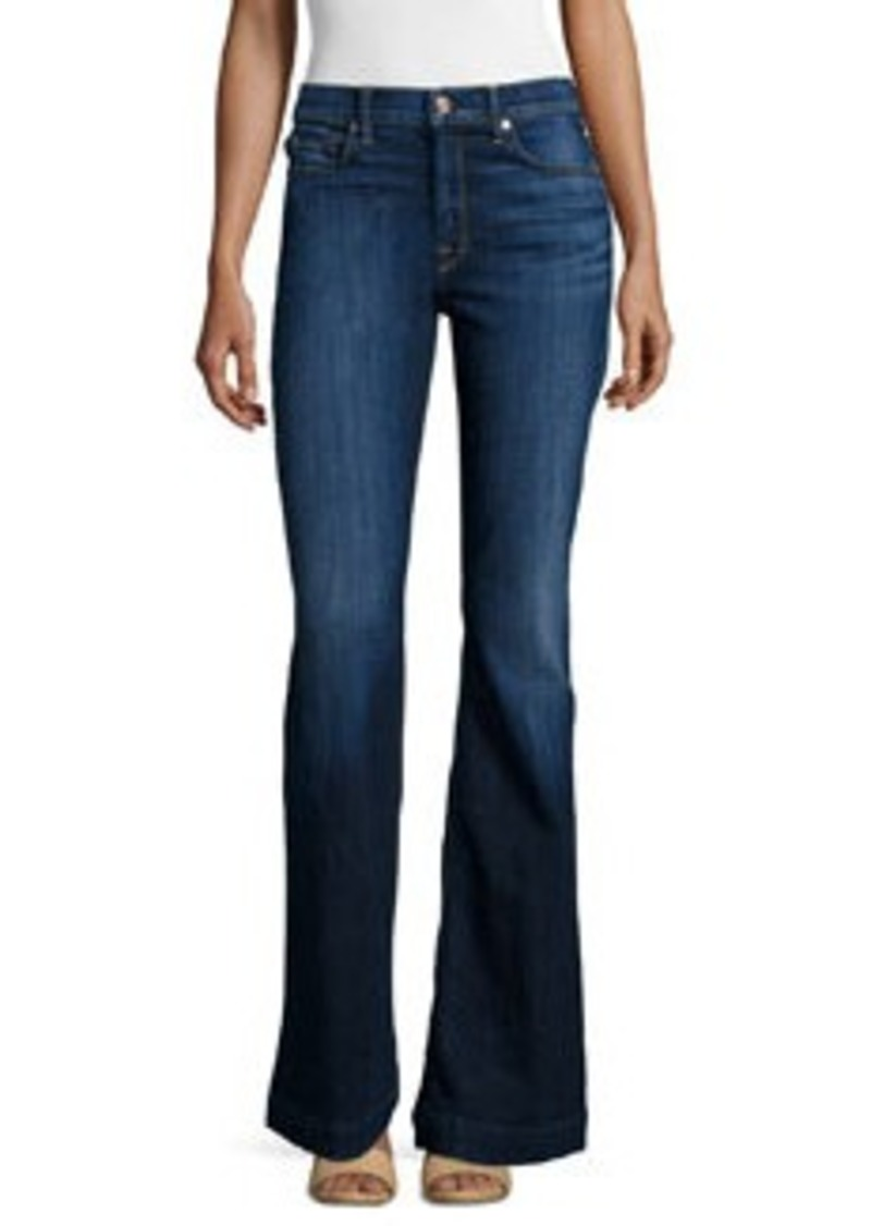 7 For All Mankind New Ginger High-Waist Flare Jeans
