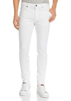 7 For All Mankind Adrien Clean Pocket Slim Fit Jeans in Natural