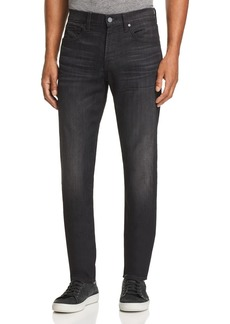 7 For All Mankind Adrien Slim Fit Jeans in Black Tide