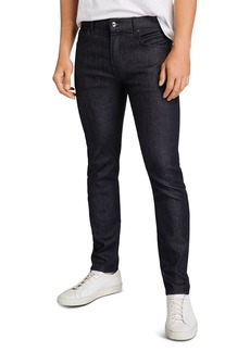 7 For All Mankind Adrien Slim Fit Jeans in Raw Blue