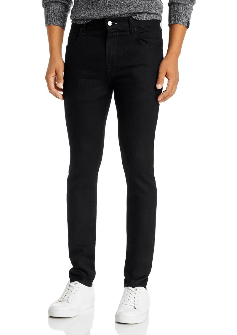7 For All Mankind Adrien Slim Fit Jeans in True Black