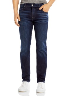 7 For All Mankind Adrien Slim Fit Luxe Performance Jeans in Los Angeles Dark