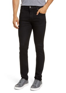 7 For All Mankind® Adrien Slim Tapered Leg Jeans (True Black)