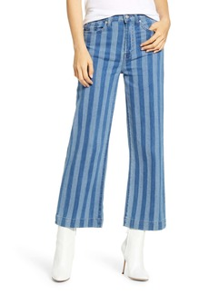 7 For All Mankind® Alexa High Waist Crop Wide Leg Jeans