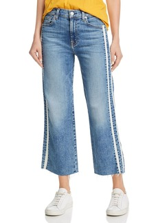 7 For All Mankind Alexa Side-Stripe Jeans in Sloan Vintage