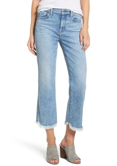 7 For All Mankind® Ali High Waist Crop Flare Leg Jeans (Radiant Wythe)