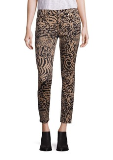 7 For All Mankind Animal Printed Pants