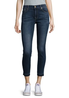 7 For All Mankind Ankle Gwenevere Denim Jeans