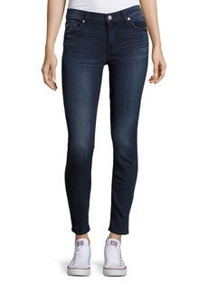 7 For All Mankind Ankle-Length Five-Pocket Jeans