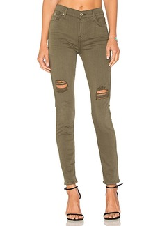 7 For All Mankind Ankle Skinny. - size 24 (also in 25,26,28,29)