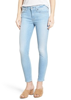 7 For All Mankind® Ankle Skinny Jeans (Cloud Blue Featherweight)