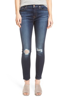 7 For All Mankind® Ankle Skinny Jeans (Dark Paradise)