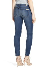 7 For All Mankind® Ankle Skinny Jeans (Distressed Authentic Light)