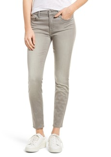 7 For All Mankind® Ankle Skinny Jeans (Featherweight Grey)