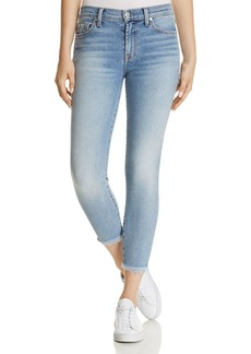 7 For All Mankind Ankle Skinny Jeans in Luxe Vintage Flora