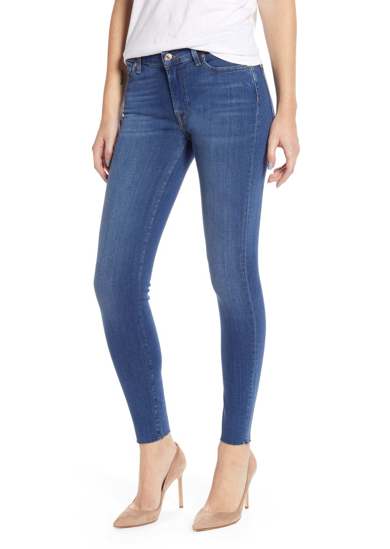 7 For All Mankind Ankle Skinny Jeans (Slim Illusion Luxe Love Story)