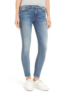 7 For All Mankind® Ankle Skinny Jeans (Wall Street Heritage)