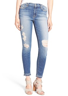 7 For All Mankind Ankle Skinny Jeans (Windsor Pink Tint)