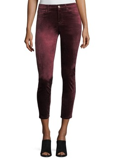 7 For All Mankind Ankle Skinny Velvet Pants
