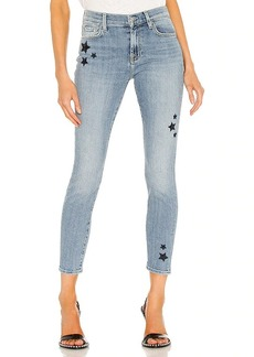 7 For All Mankind Ankle Skinny With Stars