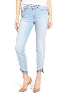 7 For All Mankind® Ankle Straight Leg Jeans (Ocean Breeze)