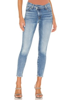 7 For All Mankind Asymmetric Front Slim