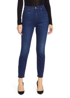 7 For All Mankind® Aubrey High Waist Ankle Skinny Jeans (Luxe Vintage Luna)