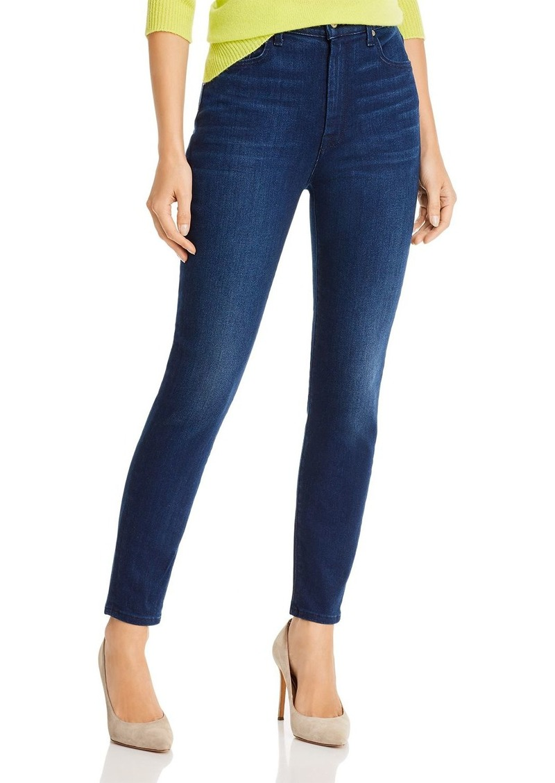 7 For All Mankind Aubrey Super High Waist Ankle Skinny in Luxe Vintage Luna