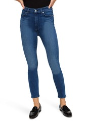 7 For All Mankind® Aubrey Ultra High Waist Ankle Skinny Jeans (Peace Blue)