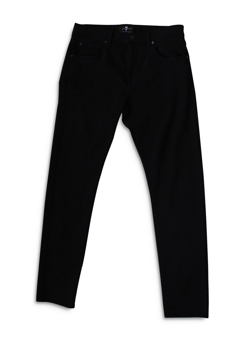 7 For All Mankind Austyn Relaxed Fit Jeans in Annex Black