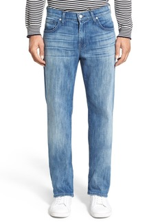 7 For All Mankind® Luxe Performance - Austyn Relaxed Straight Leg Jeans (Nakkitta Blue)