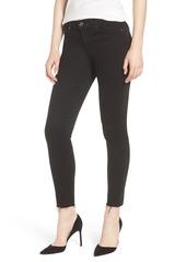 7 For All Mankind® b(air) Raw Hem Crop Skinny Jeans