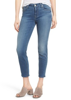 7 For All Mankind® b(air) - Kimmie Crop Straight Leg Jeans (Bair Sunset)