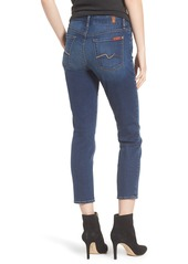 7 For All Mankind® b(air) Kimmie Crop Straight Leg Jeans