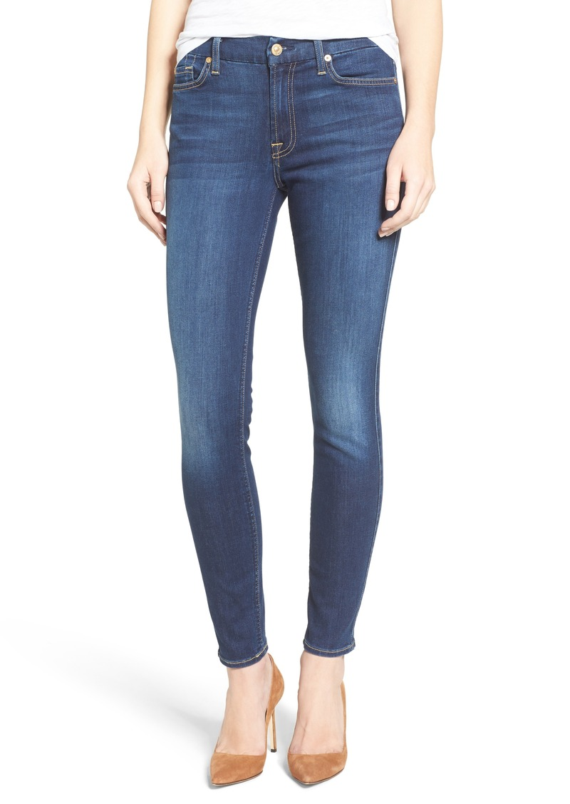 7 For All Mankind® 'b(air) - The Ankle' Skinny Jeans (Duchess)