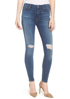 7 For All Mankind® 'b(air) - The Ankle' Skinny Jeans (Bair Vintage Dusk 2)