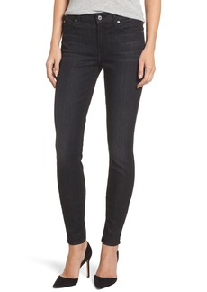 7 For All Mankind® b(air) - The Skinny High Waist Jeans (Noir)
