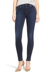 7 For All Mankind® b(air) Ankle Skinny Jeans (Bair Tranquil Blue)