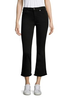 7 For All Mankind B(Air) Cropped Bootcut Jeans