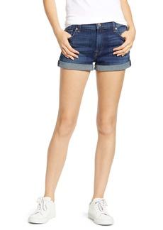 7 For All Mankind® b(air) Cuffed Denim Shorts