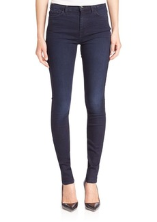 7 For All Mankind High-Waist Skinny Jeans