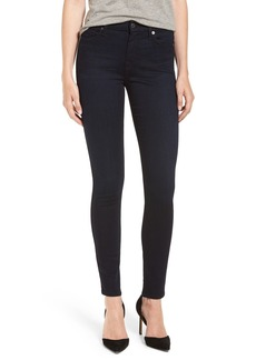7 For All Mankind b(air) High Waist Skinny Jeans (Blue/Black River Thames)