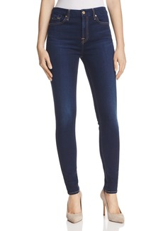 7 For All Mankind b(air) High Rise Skinny Jeans in Tranquil