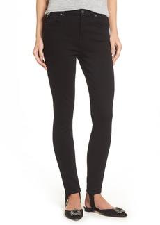 7 For All Mankind® b(air) High Waist Ankle Skinny Stirrup Jeans