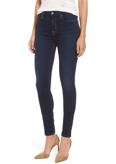 7 For All Mankind® b(air) High Waist Skinny Jeans (Bair Tranquil Blue)