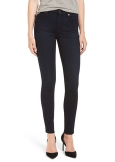 7 For All Mankind b(air) High Waist Skinny Jeans (Blue/Black River Thames)