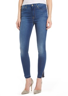 7 For All Mankind® b(air) High Waist Split Hem Skinny Jeans (Manhattan-Bamn)