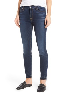 7 For All Mankind® b(air) Released Hem Ankle Skinny Jeans (b(air)Night Shadow)