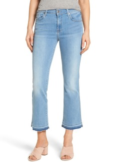 7 For All Mankind® b(air) Released Hem Crop Bootcut Jeans (Bair Sunfaded 2)